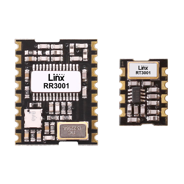 LR Series RF Transmitter and Receiver Modules