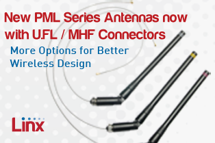 PML Antennas Now with U.FL / MHF Connectors